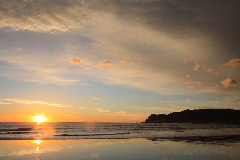Sunrise over Waipero Bay