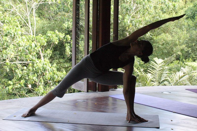 Extended Side Angle Pose II